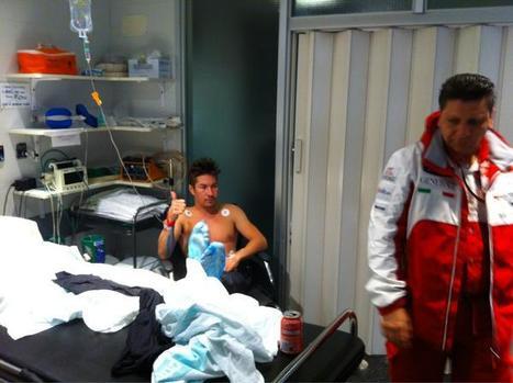 Nicky Hayden Photo by Nick Sannon via Twitter | Ductalk Ducati News | Scoop.it