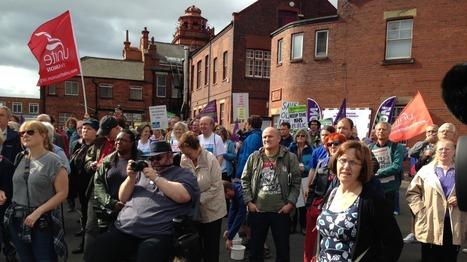 Hundreds start 300 mile march to support NHS | Welfare, Disability, Politics and People's Right's | Scoop.it