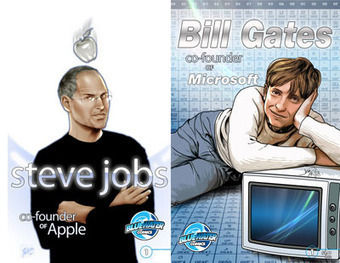 Steve Jobs Stars in Another Comic Book - GalleyCat | Comic Books | Scoop.it