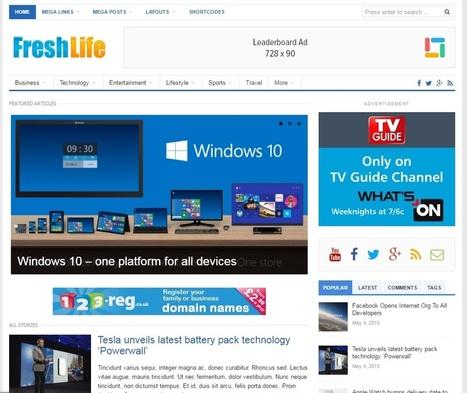 Freshlife v2 0 4 WordPress Theme - TemplateRob-
