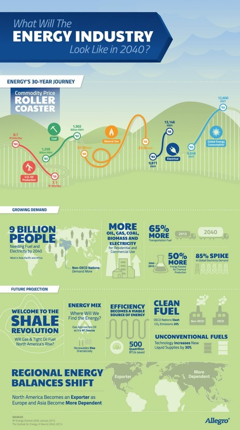 What Will The Energy Industry Look Like in 2040?   Visual.ly   Développement durable et efficacité énergétique   Scoop.it
