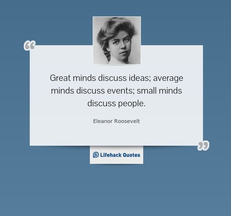 Quote of the Day: How to be a Great Person | Chummaa...therinjuppome! | Scoop.it