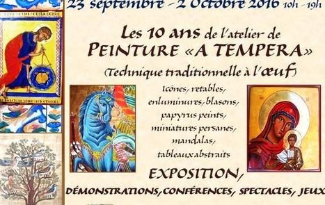 proarti : Les 10 ans de l'atelier de peinture a tempera (oeuf) | A-arts-sandrine | Scoop.it