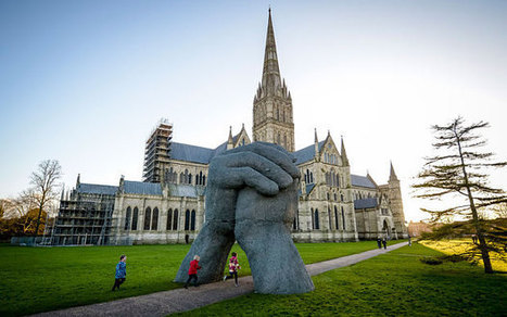 Massive sculpture relocated because people busy texting kept walking into it | No Such Thing As The News | Scoop.it