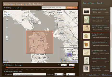 David Rumsey Historical Map Collection | Visual Learning for EFL | Scoop.it