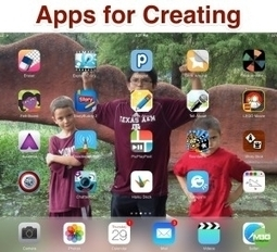 14 Apps for Creating in Elementary - mattbgomez | mobile devices and apps in the classroom | Scoop.it