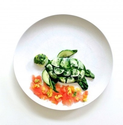 Whimsical food creations transform an ordinary dinner plate into culinary canvas | Diary of a serial foodie | Scoop.it