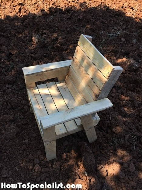 Diy Outdoor Chair Howtospecialist How To Bu
