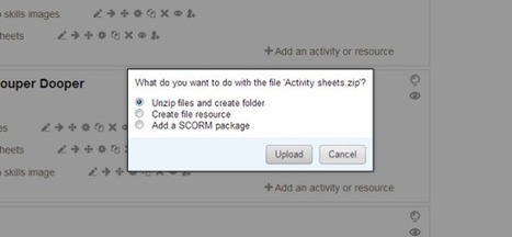 Upload Multiple Files and Folders Quickly onto Moodle | Matt's Ed Tech | Scoop.it