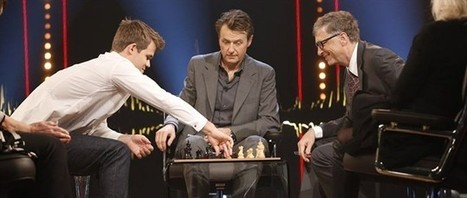 Bill Gates Lose a Chess Match in 79 Seconds to New World Champion Magnus Carlsen | No Such Thing As The News | Scoop.it