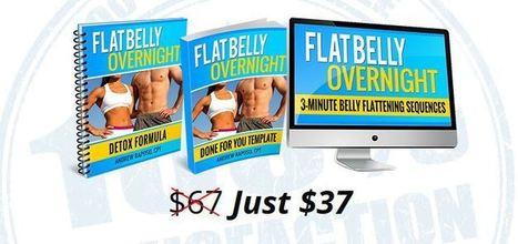 Flat Belly Overnight >> Flat Belly Overnight Review Is It Scam Stop