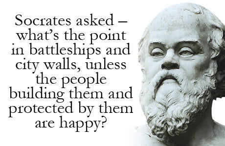 Socrates on Ancient Walls & maybe... on Modern Walls | Quote for Thought | Scoop.it