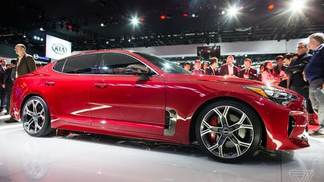 The Kia Stinger is breaking the Detroit auto show rules | Nerd Vittles Daily Dump | Scoop.it