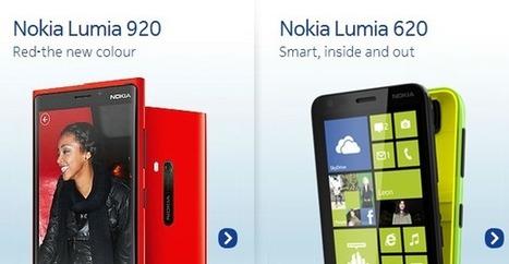 Kaimonotai Blog » Blog Archive » Nokia Lumia920新色 & Lumia620 ... | smartphone_jp | Scoop.it