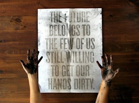 Dirty hands... | Quote for Thought | Scoop.it
