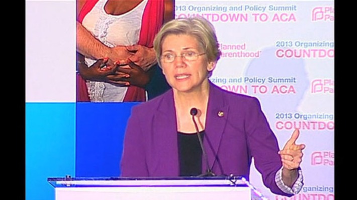 Sen. Elizabeth Warren: Reproductive rights isn't just a women's issue | Dare To Be A Feminist | Scoop.it