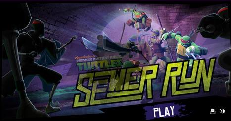 Teenage Mutant Ninja Turtles Sewer Run | Action Games | Scooby Doo Games | Avatar Games | Scoop.it