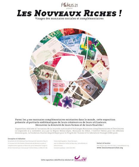 Visitez l'exposition en ligne ! - Les Nouveaux Riches | Monnaies En Débat | Scoop.it