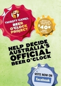 Thirsty Camel launches new Beer O'Clock campaign   International Beer Market Insights   Scoop.it