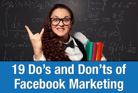 19 Do's and Don'ts of Facebook Marketing | SM4NPFacebook | Scoop.it