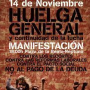 Internationalisation and Expansion of November 14 General Strike by Puerta Del Sol EconomicsAssembly | Networked Labour | Scoop.it