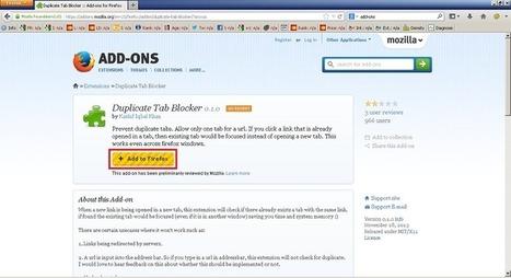 Cara Gampang Mencegah Duplicate Tab di Mozilla Firefox | Android APK Download | Scoop.it