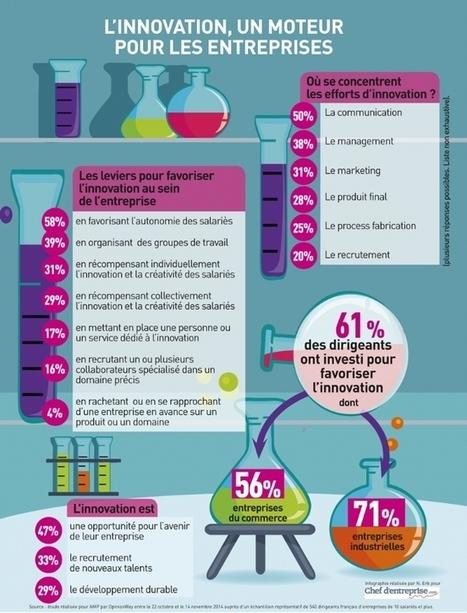 Infographie | L'innovation, un moteur pour les entreprises | Entreprises collaboratives et apprenantes | Scoop.it
