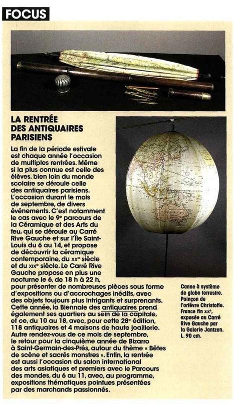 Focus: la rentrée des antiquaires parisiens   La Biennale - Paris   Scoop.it