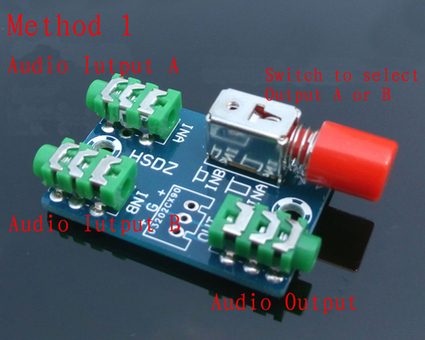 Audio Switching Board 3 5mm Audio Input Block 1