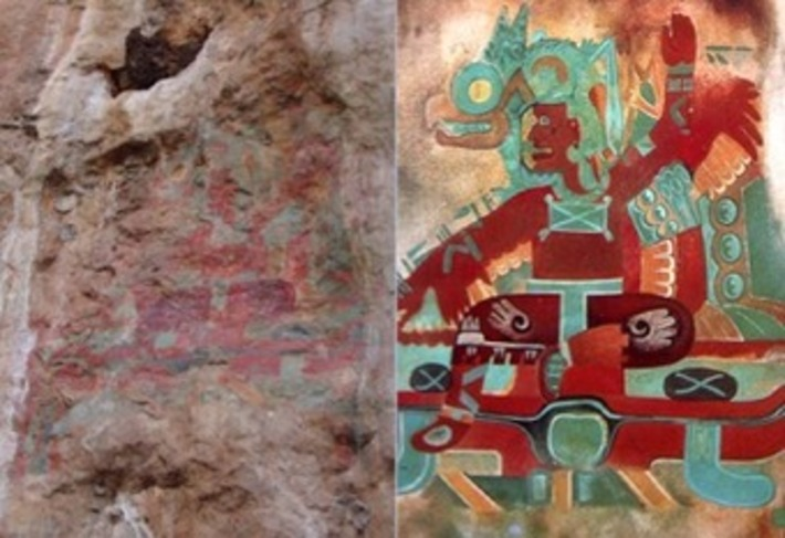 2,500-year-old Mexican cave paintings restored | The Archaeology News Network | Kiosque du monde : Amériques | Scoop.it