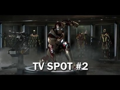 """Prepare For Heavy Metal"" - New Iron Man 3 TV Spot 