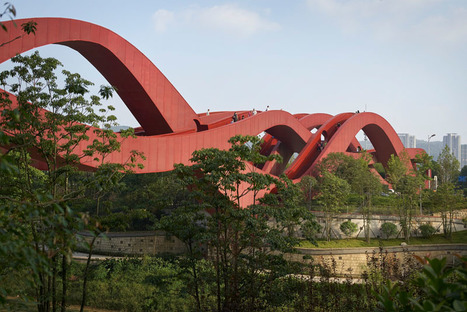 The Lucky Knot Bridge Opens In Changsha, China | Glazing Architecture Construction | Scoop.it