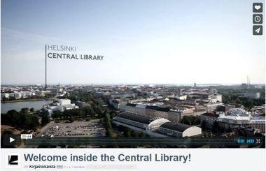 Découvrez la future bibliothèque d'Helsinki - Vagabondages | Des livres, des bibliothèques, des librairies... | Scoop.it