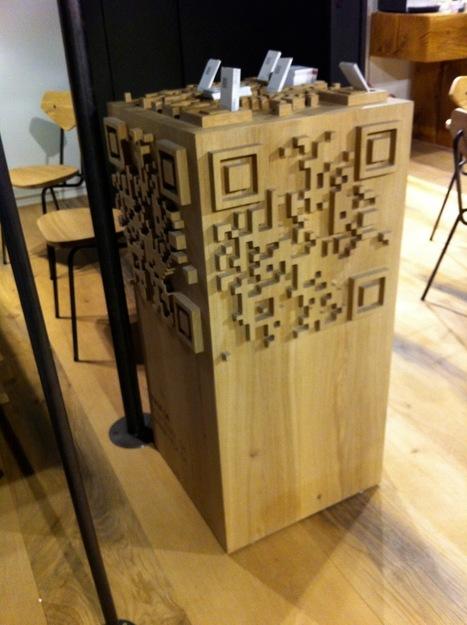 Le Qrcode inspire les designers de mobilier | artcode | Scoop.it