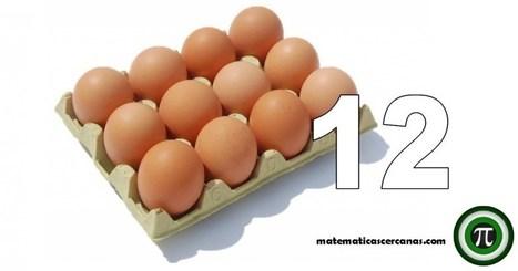 Docenas de huevos... ¿Por qué no decenas? - matematicascercanas | Matemáticas curiosas. Curiosidades matemáticas. | Scoop.it