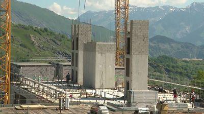 Savoie : construction de la plus haute résidence hôtelière d'Europe en 100% modulaire bois dans la station des Sybelles