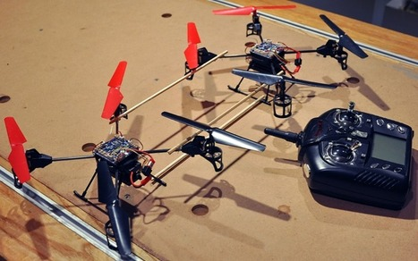 Disposable quadcopters could democratize aerial panoramas   Coding for Kids   Scoop.it