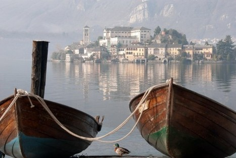 The Island of San Giulio, Lake Orta, Piedmont | Italia Mia | Scoop.it
