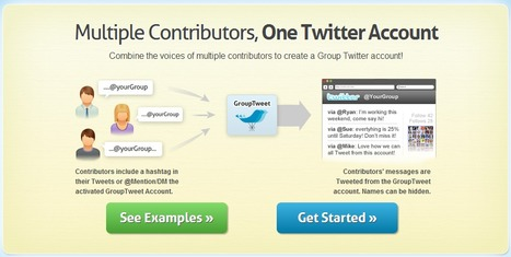 GroupTweet   Helping groups communicate privately via Twitter   Time to Learn   Scoop.it