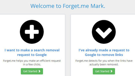​Forget.me Helps Remove You from Google Search Results | Bazaar | Scoop.it