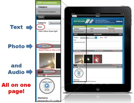 Note-taking is now 60% faster in ecoInsight's Mobile Audit for iPad app! | ecoInsight Announcements | Scoop.it