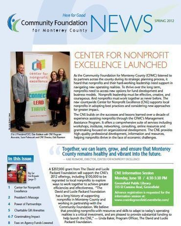 The Community Foundation for Monterey County :: Job and Internship Opportunities with the Community Foundation for Monterey County   Personal   Scoop.it