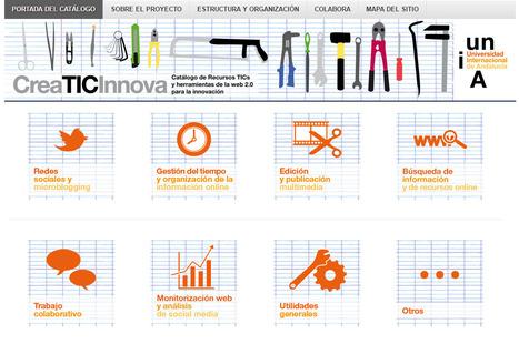 Catálogo de recursos TIC y herramientas web 2.0 para la innovación | Elearning | Scoop.it