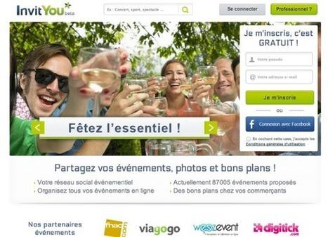 InvitYou, Le Réseau Social Dédié à l'Organisation d'Evènements Physiques | e-participation | Scoop.it