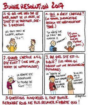 (Un tout petit peu de sérieux, pour une... - Baptiste dessine | Facebook | Recherche d'information et bibliothéconomie | Scoop.it