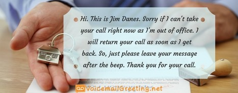 Sample voicemail greeting for law office voic real estate agent voicemail greeting template m4hsunfo