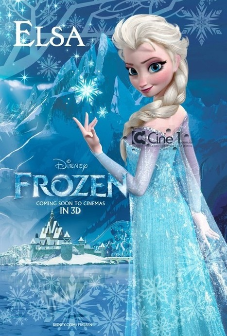 First Look At Disney's Frozen Characters In Two New Posters | Animation News | Scoop.it