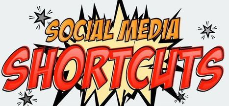 50 raccourcis clavier pour les réseaux sociaux | Communication territoriale, de crise ou 2.0 | Scoop.it
