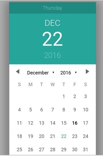 Materialize Date Picker | Script | Calendar | P