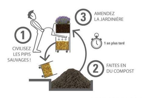 Les uritrottoirs : le mobilier urbain responsable qui révolutionne les odeurs urbaines ! | Lumières de la Ville | Animer la ville | Scoop.it